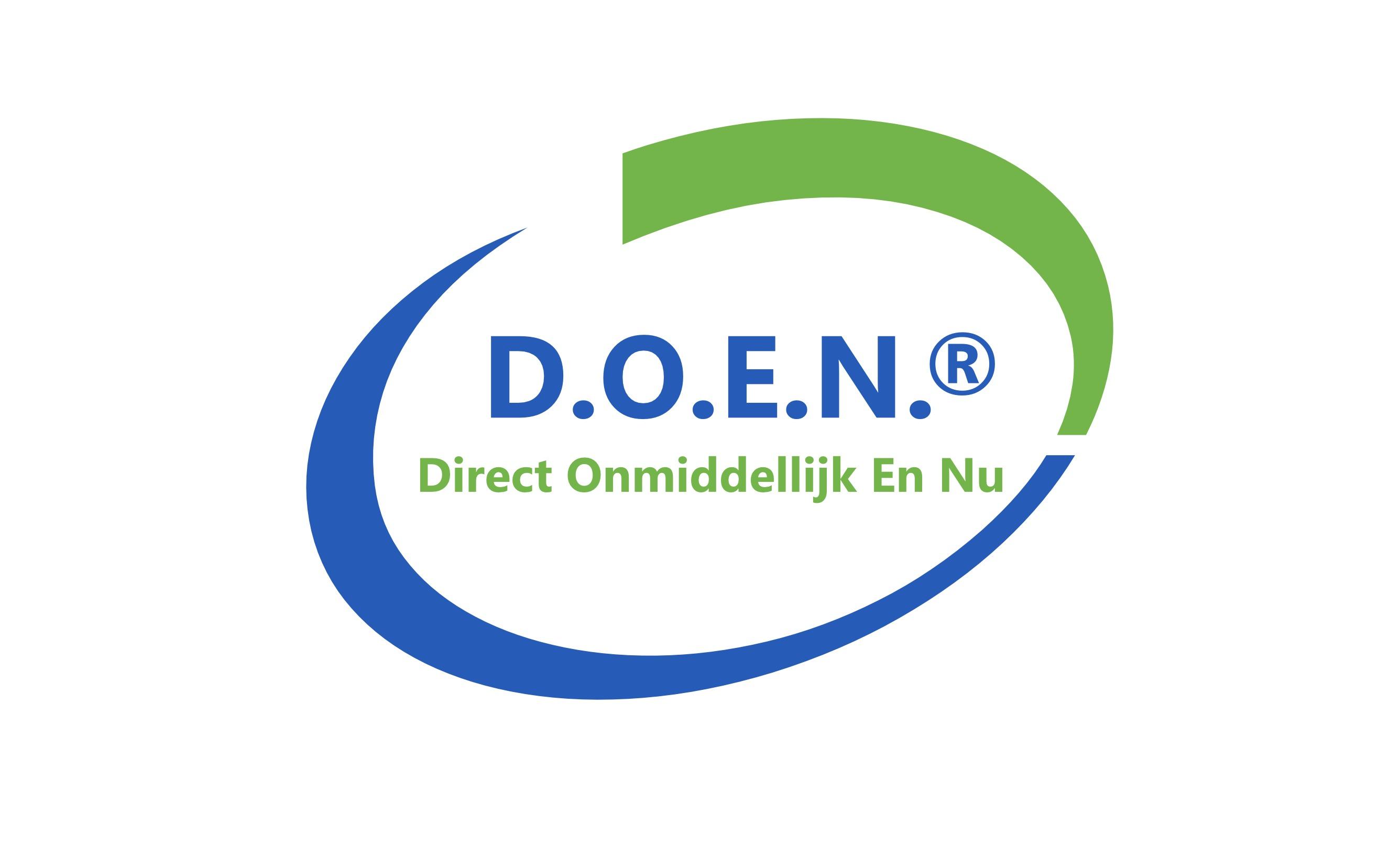 Logo van D.O.E.N.®